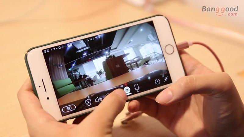 Digoo DG-M1Q 960 P 2.8 мм Беспроводной мини WI-FI Ночное видение Умный дом безопасности IP Камера ONVIF Мониторы Видеоняни и Рад