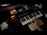 MIDI THRU - VIRUS C &amp KORG RADIAS