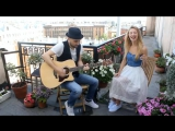 Valerie (The Zutons_Amy Winehouse) Acoustic duo cover by Yulia Liyer  Konstanti
