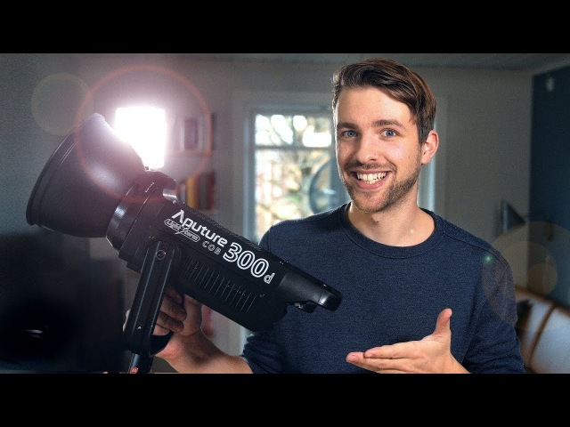 Aputure 300D [The incredible strong filmmaking LED lamp]