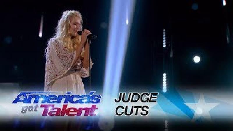 Britt Saasen: Singer Performs Beautiful Fleetwood Mac Cover - America's Got Talent 2017