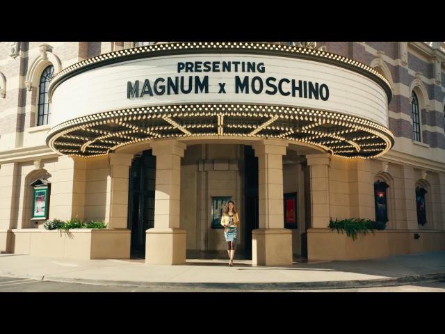 Magnum Double ile içindeki seni serbest bırak - MAGNUM X MOSCHINO feat Cara Delevingne