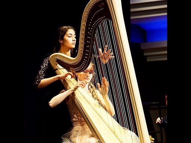 M. Marin - Sonata for two harpist on one harp (II. Adagio ma non tropo)