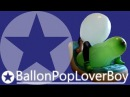 "Three ""LoonerWorld"" 32"" Longneck-Balloons popping [1080p]"