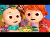 Yum Yum Vegetables Song Cocomelon (ABCkidTV) Nursery Rhymes &amp Kids Songs