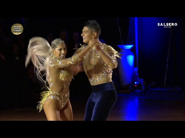Ricardo Karen, Chile Argentina, Professional Salsa Cabaret, Final Round, World Salsa Summit 2017