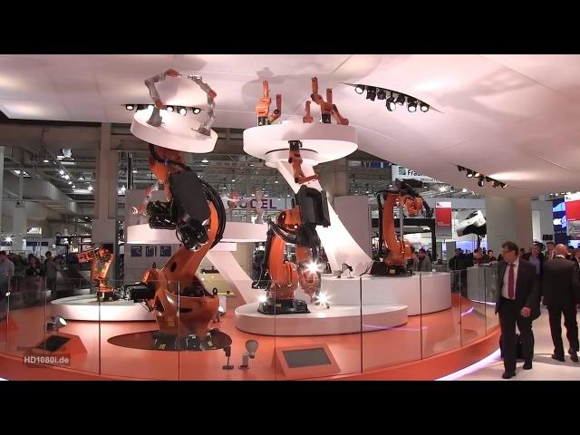 Немецкие роботы. Фантастические Fanuc и Kuka на выставке роботов в Германии » Freewka.com - Смотреть онлайн в хорощем качестве