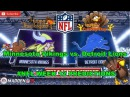 Minnesota Vikings vs. Detroit Lions | #NFL WEEK 12 | Predictions Madden 18