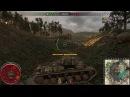 Новичок на КВ1 карта Жемчужная Река World of Tanks