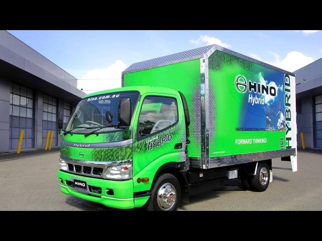Hino 300 714 Hybrid 2007 11