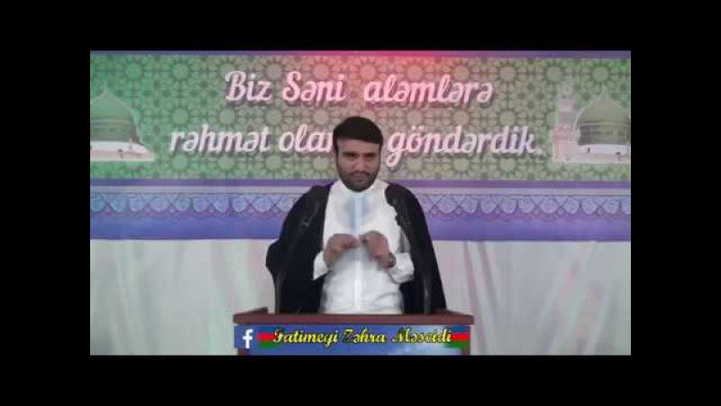 Hacı Ramil - Bizim Peyğəmbər (səllallahu əleyhi və alihi və səlləm) belə edirdi