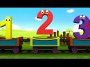 Развивающий мультик для детей от 2 до 5 лет. Учим цифры на английском языке. Английский для детей