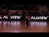 Winson Tam  Anastasia Novikova Solo Samba   Final Dance Masters Bucharest 2017