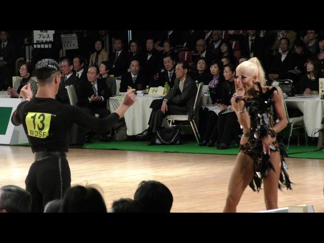 4K 2017 WDSF World Open Latin in Tokyo | Gabriele Goffredo - Anna Matus, MDA | CHA CHA CHA