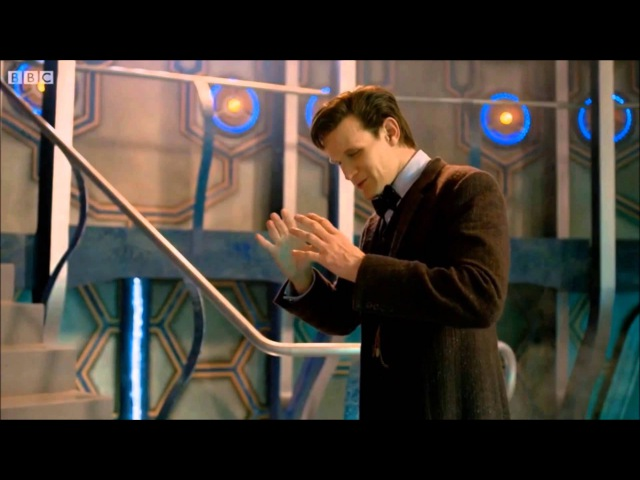 Doctor Who - The Eleventh Doctor Regenerates - Matt Smith to Peter Capaldi