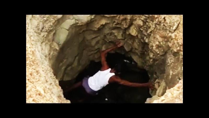 40 дней он копал эту яму! Все думали, что он сошел с ума...