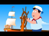 A Sailor Went To Sea - Nursery Rhyme with Karaoke