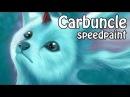 FFXV Carbuncle speedpaint