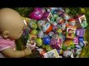 Кукла Беби бон Настя и Бассейн с сюрпризами Тролли, Киндерино, кошечка Кэтти и др...