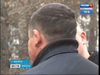 На школьной парковке в Ангарске неизвестный стрелял в автомобиль Водитель ранен