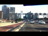 Driving to the City in Sydney.