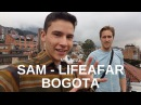 Meeting Sam LifeAFAR in Bogota Colombia 51