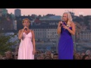 Malena Ernman Helen Sjöholm Sankta Klara Klocka Live Allsång På Skansen 2017