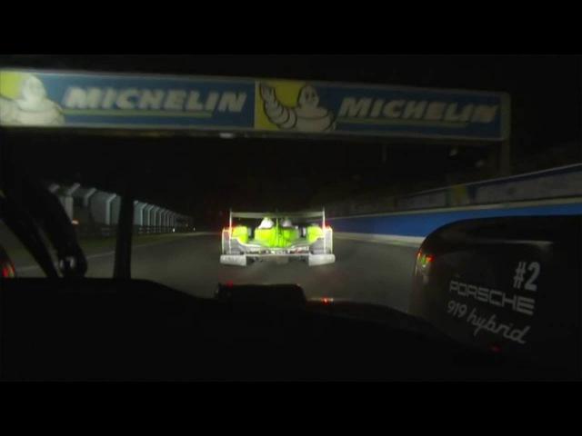 2016 Le Mans 24 Hours - Porsche 2 Onboard (00:16-04:04)