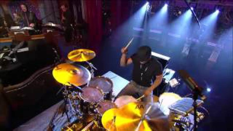 Tony Royster Jr Drum Caravan drum solo Live on Letterman show HD
