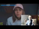 Ларин cмотрит Лиззку: Коля Соболев, это видео для тебя (про травлю Лиззки)