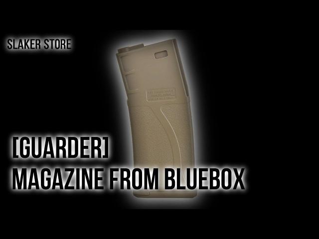 [GUADRED] МЕХАНИЧЕСКИЙ МАГАЗИН ДЛЯ М-СЕРИИ / MAGAZINE FOR М SERIES (BLUEBOX)