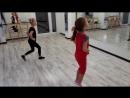 Бально-спортивные танцы. Медленный вальс. На занятии.