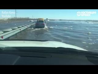 Очередной паводок в Казахстане – 2017