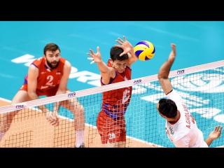 Top 15 Best Volleyball Blocks 1v1 in WL 2017  - Final Six