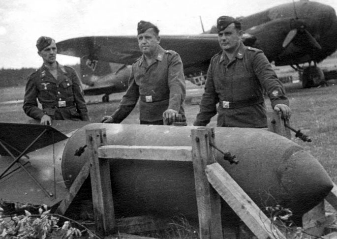 Бомбы для юнкерсов