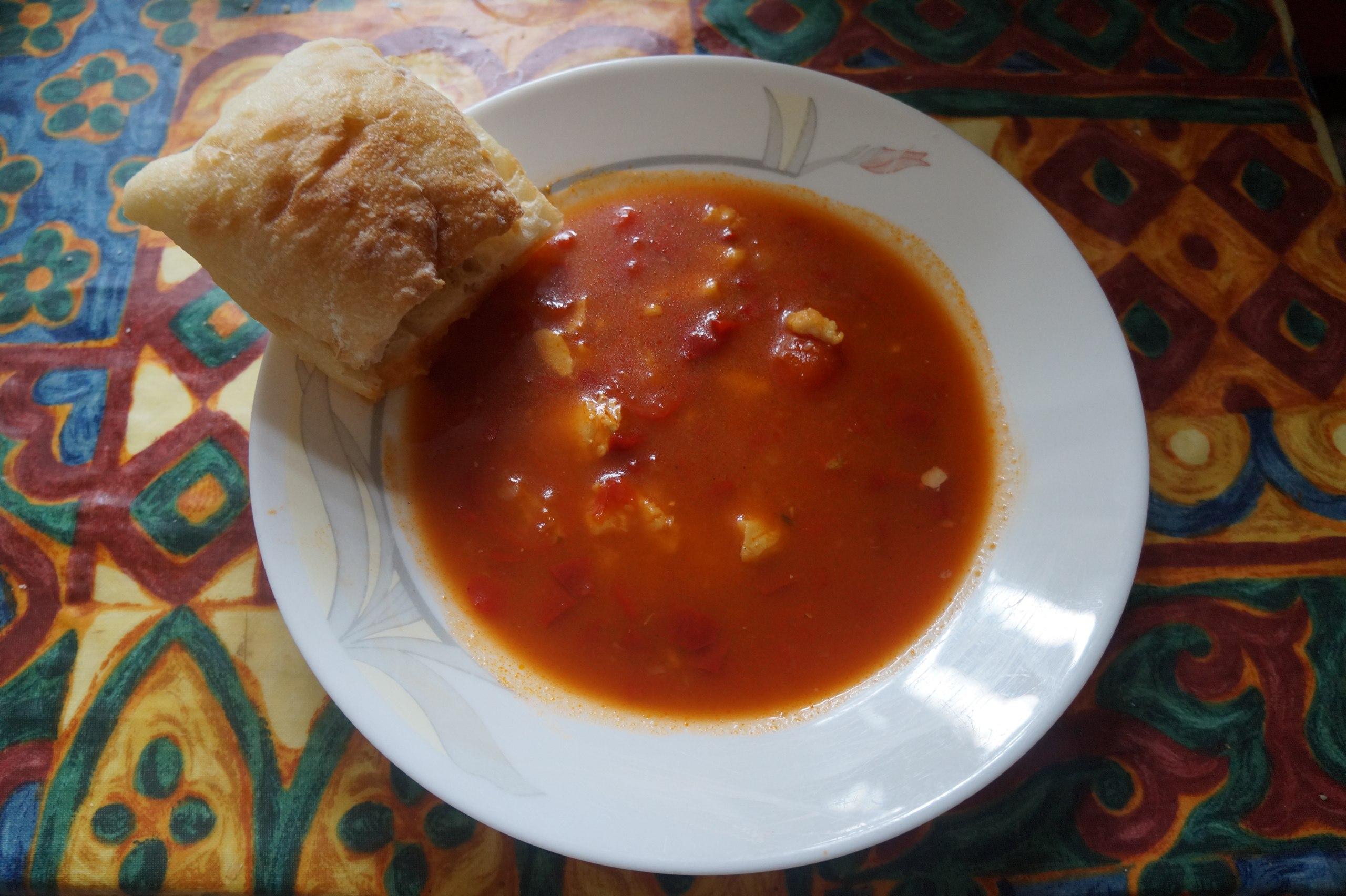 Рецепт Средиземноморского томатного супа от Elementaree