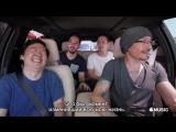 Carpool Karaoke with Ken Jeong, Mike Shinoda, Joe Hahn and Chester Bennington [rus sub]