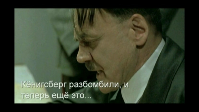 Гитлер про закрытие torrents.ru (Art by Kac)