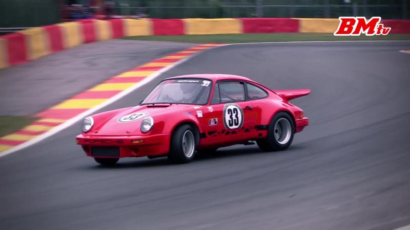 Классический 911 на Бельгийской трассе Spa
