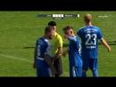 Strittige Szene bei Carl Zeiss Jena - SV Meppen