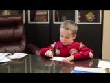 Гордей Колесов, 5 лет. А Вам слабо?! Чтение китайских стишков