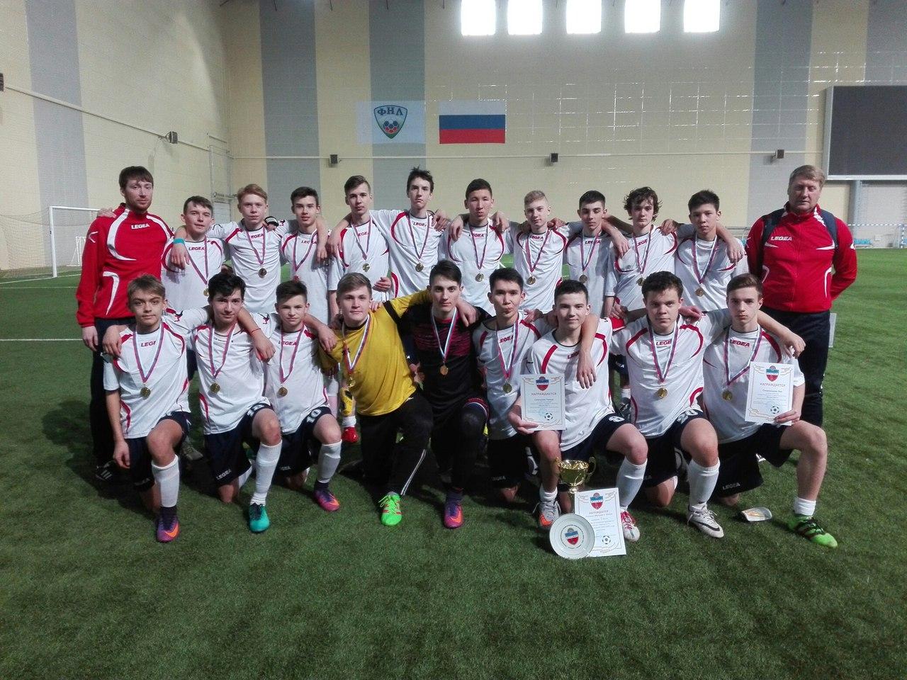 Сборная СДЮСШОР «Иртыш»-2002 - победитель межрегионального турнира «Весна-2017»!