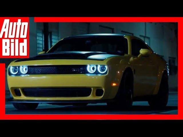Dodge Challenger SRT Demon (2018) - Offizieller Teaser