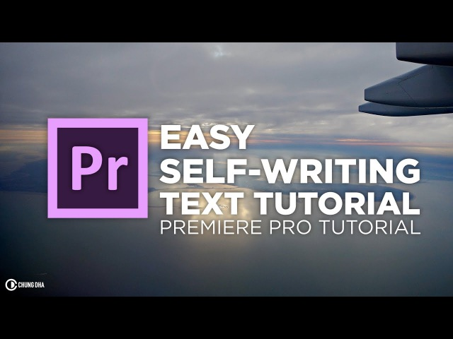 how to add text to video adobe premier