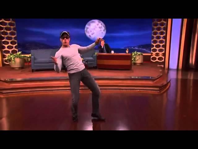 "JCVD Recreates His ""Kickboxer"" Dance Scene - CONAN on TBS"