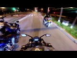 Безбашенный на мотоцикле