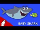 BABY SHARK на русском - АКУЛЕНОК - Songs for children развивающая детская песня мультик про животных