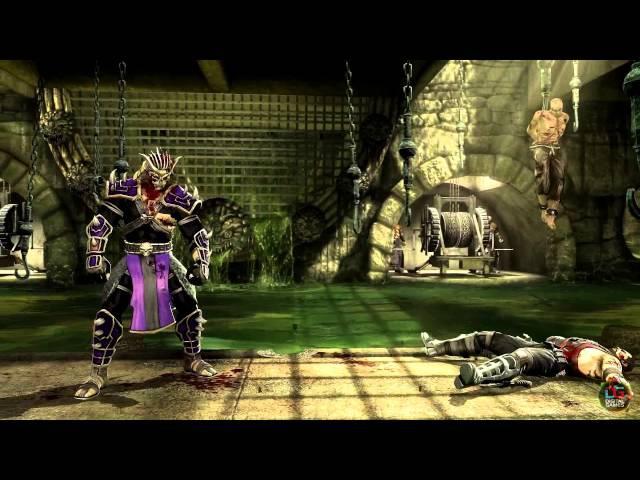 Mortal Kombat 9 BOSS Mod Purple Shao Kahn Ladder Expert