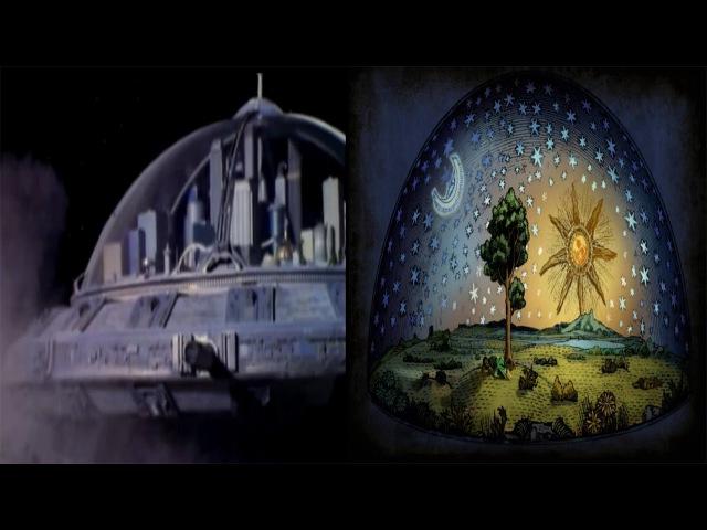 Flat Earth Dome Firmament - Flat Domed Earth Mockery Hollywood