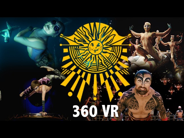 Experience our Shows in Full 360 VIRTUAL REALITY | KA, KURIOS, LUZIA, O 360 VR Video